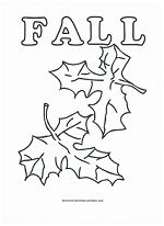 free fall coloring pages from www.preschool-printable-activities.com