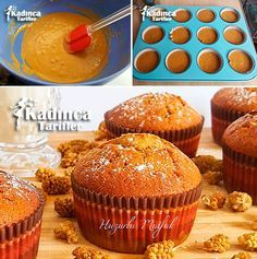 Molasses Sugar Free Muffin Recipe, How To Sugar Free Muffins, Pizza Sandwich, Pudding Cake, Muffin Recipes, Bakery, Food And Drink, Favorite Recipes, Sweets, Eat