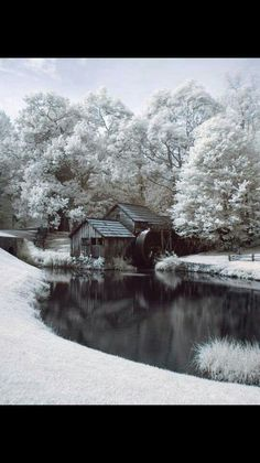Mabry Mill, Virginia..in the winter...