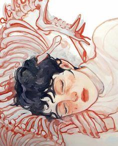 Фотография Pretty Art, Cute Art, Art Sketches, Art Drawings, Arte Cyberpunk, Illustration Art, Illustrations, Arte Sketchbook, Guache