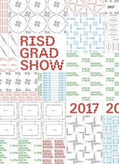 "To promote the RISD Grad show 2017, which took place this summer, the site is filled with Univers in a stunning and playful mode. By repeating information into digital infinity the typography of the site ""presents an expansive range of fine art and design work by the 235 students completing master's degrees at Rhode Island School of Design (RISD) this spring"". Bold and amazing the type experiment will keep you busy for ages. Enter the font-expanding universe of ultra talented people here."