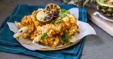 These Thai curry paste marinated monkfish skewers are the hero of this dish and skewered on lemongrass stalks makes it pretty unique. It's also paired at the table with a recipe inspired by a dish Mike once ate and told Ben about... pineapple rice.