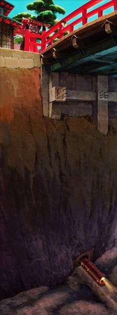 Spirited Away, a Studio Ghibli film. I love studio Hayao Miyazaki, Studio Ghibli Art, Studio Ghibli Movies, Totoro, Le Vent Se Leve, Chihiro Y Haku, Castle In The Sky, Film Studio, Howls Moving Castle