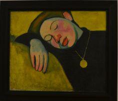 Sonia Delaunay, Jeune fille endormie, 1907. Centre Pompidou. (Foto MTRD)
