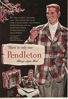 232e48a15b5 25 Best Pendleton Mens Vintage Ads images