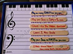 Piano Lesson Plan