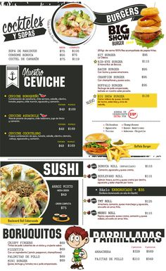 Restaurant Flyer, Restaurant Menu Design, Digital Menu Boards, Bike Food, Menu Layout, Menu Flyer, Food Menu Design, Food Banner, Best Sushi