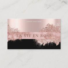 Makeup Business Cards, Elegant Business Cards, Business Card Size, Professional Business Cards, Business Logo, Business Ideas, Boutique, Beauty Salon Decor, Rose Gold Marble
