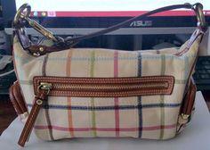 $45Coach tartan plaid purse --Authentic & Rare design  & free gift with purchase  #Coach #Satchel