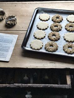 Gyúrt omlós tészták: fehér linzer | levendulalány Smoothie, Muffin, Breakfast, Food, Morning Coffee, Essen, Smoothies, Muffins, Meals