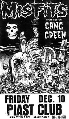Misfits-Gang Green @ Piast Club Jersey City NJ 12-10-82