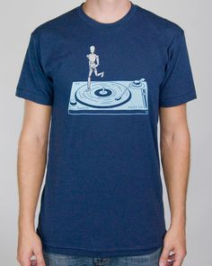 This turntablist really knows how to scratch! Choke Shirt Company
