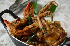 Nandu Masala - How to make Crab Masala — Spiceindiaonline Fried Fish Recipes, Seafood Recipes, South Indian Chicken Curry, Vegetable Pakora, Biryani Chicken, Burfi Recipe, Easy Indian Recipes, Vegetarian Curry, Masala Recipe