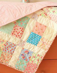 Patchwork baby blanket | Flickr - Photo Sharing!