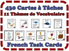 Learning French or any other foreign language require methodology, perseverance and love. In this article, you are going to discover a unique learn French method. Vocabulary List, Vocabulary Activities, Interactive Activities, Language Activities, World Language Classroom, Ways Of Learning, Picture Cards, Learn French, Teacher Newsletter