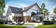 Projekt domu HomeKONCEP 8 #homekoncept #projektdomu #domnowoczesny #domjednorodzinny #stylhomekoncept #modernhome