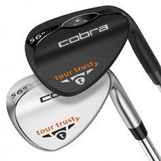 Tour Trusty Wedge by Cobra Golf are some of the best wedges made in the last 10 years New Golf Clubs, Golf Club Sets, Golf Wedges, Cobra Golf, Cleveland Golf, Golf Putting, Disc Golf, Golf Outfit, Golf Tips