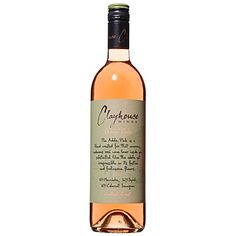 """Clayhouse 2010 """"Adobe Pink"""" - runner-up West's Best Wine 2011.  Strawberry and raspberry spiked with citrus and minerality."""