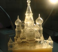 Transparent 3D Printed Architecture