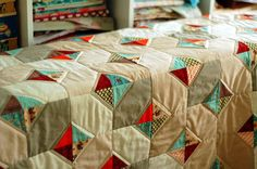 I like the quilting in this quilt.