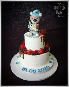 Krstinová tortička torta, Autorka: Manu Baby Cakes, Cake Decorating, Birthday Cake, Desserts, Daily Inspiration, Food, Ideas, Food Cakes, Conch Fritters