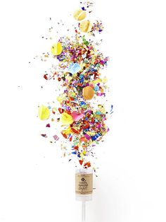 Awesome Party Tricks Under $8 That Will Change Your Entertaining Forever: Make Confetti Poppers