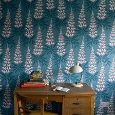Foxglove Tiki wallpaper