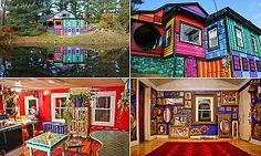 Welcome to the house of fun! A look inside New York artist's home #DailyMail