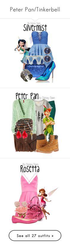 """Peter Pan/Tinkerbell"" by disney-teen ❤ liked on Polyvore featuring moda, Dune, Liz Claiborne, Susan Caplan Vintage, Ayaka Nishi, women's clothing, women's fashion, women, female y woman"
