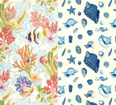 Calico corners  /Fabrics -From Seashell to Beach to Nautical
