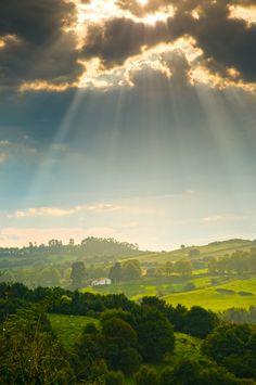Paisaje en Cócebres #Cantabria #Spain #Travel