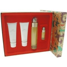 PERRY ELLIS 360 by Perry Ellis - EDT SPRAY 3.4 OZ & BODY LOTION 3 OZ & SHOWER GEL 3 OZ & EDT SPRAY .25 OZ MINI