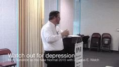 Career Opportunities with Douglas E. Welch » Audio: Watch out for depression from Transition as the New Normal 2015 with Douglas E. Welch