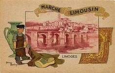 G Marechaux Artist Signed France Province Limousin Collectible Vintage Postcard