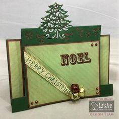 Crafters Companion Die'sire Christmas Edge'ables 4