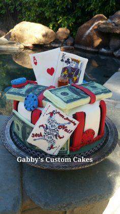 Sacramento Poker Cake Check Custom Cakes Facebook Birthday Desserts Food Pies