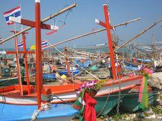 Fishing boats - Thailand