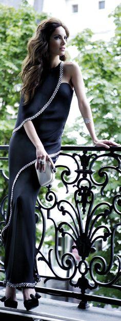 #street #fashion classic black dress @wachabuy