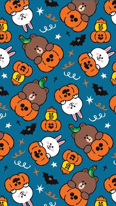 Line Friends wallpaper - Halloween Fondos