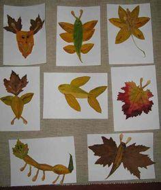 leaves craft