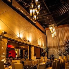 Red O restaurant, Newport Beach, California. Custom Drapes, Newport Beach, Chandelier, Restaurant, Windows, Ceiling Lights, Lighting, Gallery, Commercial