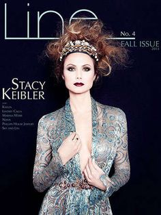 The Line Fall 2013 Issue is Covered by Former Wrestler Stacy Keibler trendhunter.com