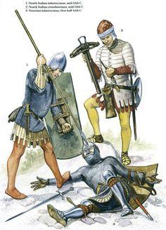 Italian Medieval Armies 1300–1500 - The Italian Militias 1300-1350 Opsrey Publishing
