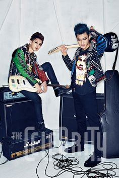 Chanyeol and Tao ♡ EXO- The Celebrity Magazine October Issue '13