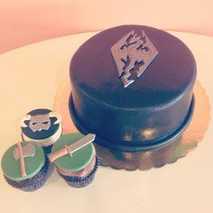 Skyrim Birthday Cake by 2tarts Bakery / New Braunfels, TX / www.2tarts.com