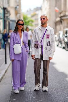 How to Pull Off a Summer Suit Like an Influencer How to Wear the Influencer Summer Suit Suit Fashion, Look Fashion, Fashion Outfits, Womens Fashion, Fashion Trends, Fashion Weeks, Paris Fashion, Mens Fashion Week, Fashion Edgy