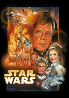 Un cartel fan made, bastante espectacular, para el retorno de Star Wars a la gran pantalla