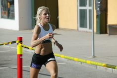 Therese Johaug - the most beautiful athlete in the world. I seriously want her body!!!!