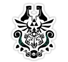 Legend of Zelda (mashup) Sticker