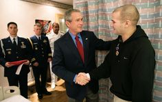 We promise you they will appreciate it. | How To Thank A Soldier, By George W. Bush